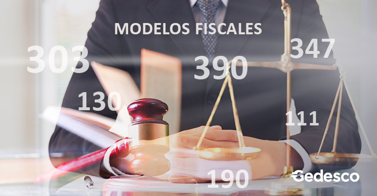 Modelos fiscales: 303, 130, 390, 347, 111, 190